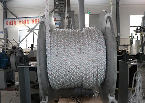 高性能聚酯混合缆绳案例