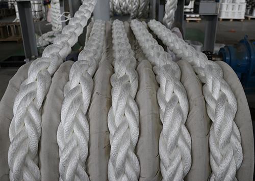 高性能聚酯混合缆绳现场案例