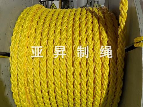 丙纶单丝八股缆绳